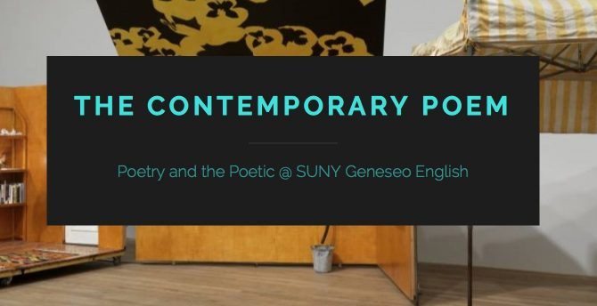 English At SUNY Geneseo | The SUNY Geneseo English Community